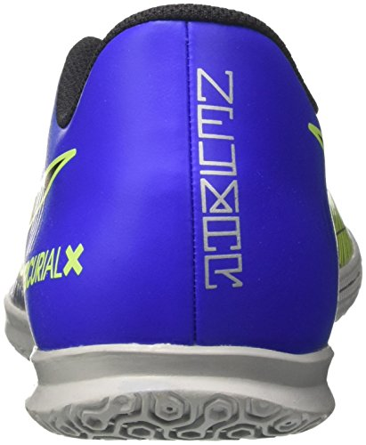 Nike Herren MercurialX Vortex III Njr IC Fußballschuhe Blau (Racer Blue Black Ch R O M E Volt 407)