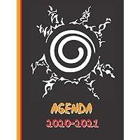 Agenda 2020-2021: Manga - Ninja - Scellement - Agenda Scolaire 2020 2021 - Organisateur Journalier Semainier Mensuel…