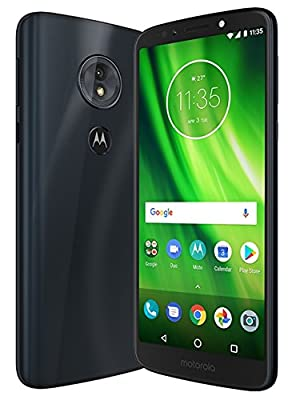 "Motorola Moto G6 Play XT1922-5 32GB 5.7"" Dual SIM 4G LTE Factory Unlocked Smartphone (Deep Indigo)"