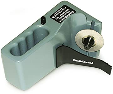 Chef'sChoice ChefsChoice Diamond Hone Sharpener : The sharpener is pretty simple to operate but the manual stated that all