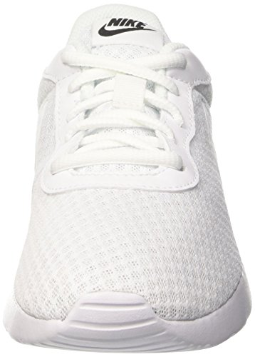 Nike Tanjun - Zapatillas para mujer, color negro / blanco Blanco (White / White-Black)