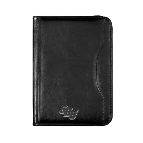 Sacred Heart Wall Street Zippered Padfolio 'Official Logo'