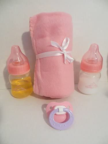 Disappearing Milk Bottles With Juice Bottle And Baby Doll Pacifier Various Style