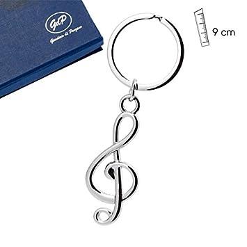 LLAVERO CLAVE MUSICAL: Amazon.es: Instrumentos musicales