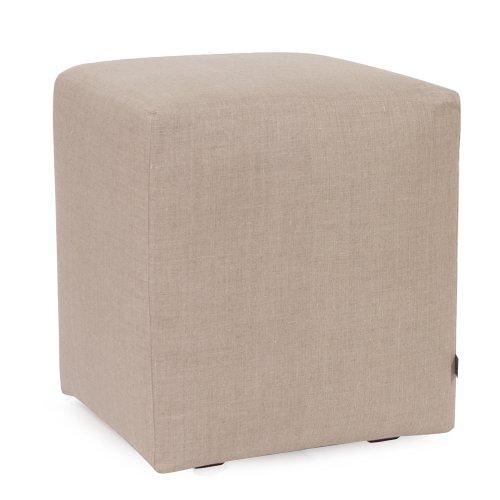 (Howard Elliott C128-610 Slipcover for Universal Cube Ottoman, Prairie Linen Natural)