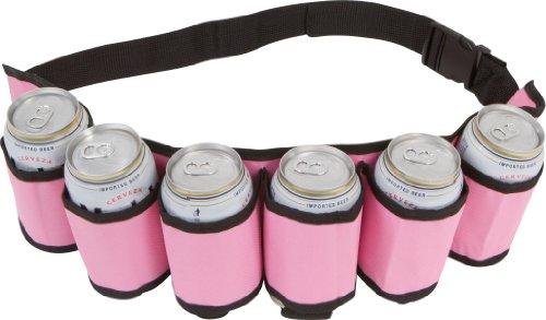 da Can Holster Belt 6 Pack - Pink Design (Drinker Beer)