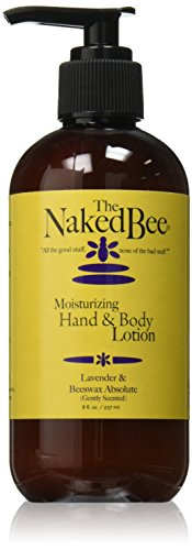 The Naked Bee Lavender And Beeswax Lotion Tester, 8 Ounce