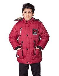 Boys Kids ML Mizids Badge Padded Jacket