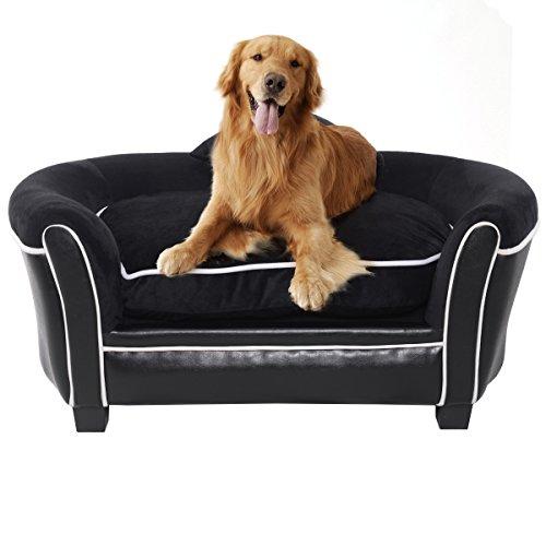 Giantex Pet Sofa Ultra Plush Lounge Sofa Bed Comfortable Pup