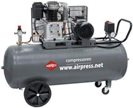 HK425-150 - Pistón de aire comprimido, 3 CV, 150 L, 10 bar: Amazon ...