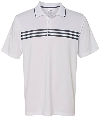 Adidas Golf Puremotion 3-Stripes Chest Polo -