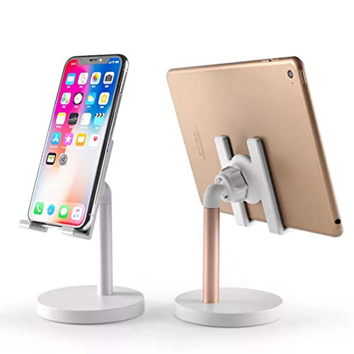 Cell Phone Stand Phone Stand Desktop Holder Cradle Compatible with iPhone X,XS,XS Max,XR,Note 9,S9 Plus,S9,Smartphones Desk Stand