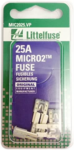 MIC2030.VP Littelfuse MICRO2 Green 32V 30 Amp Blade Fuse, Pack of 5