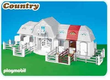 Stable Extension for Horse Farm with Paddock (5221)