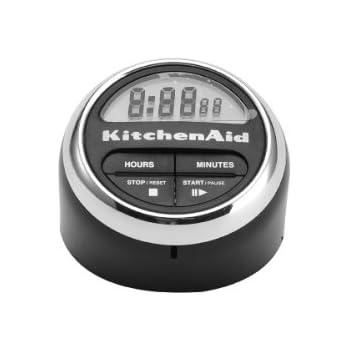 KitchenAid Digital Kitchen Timer, Black