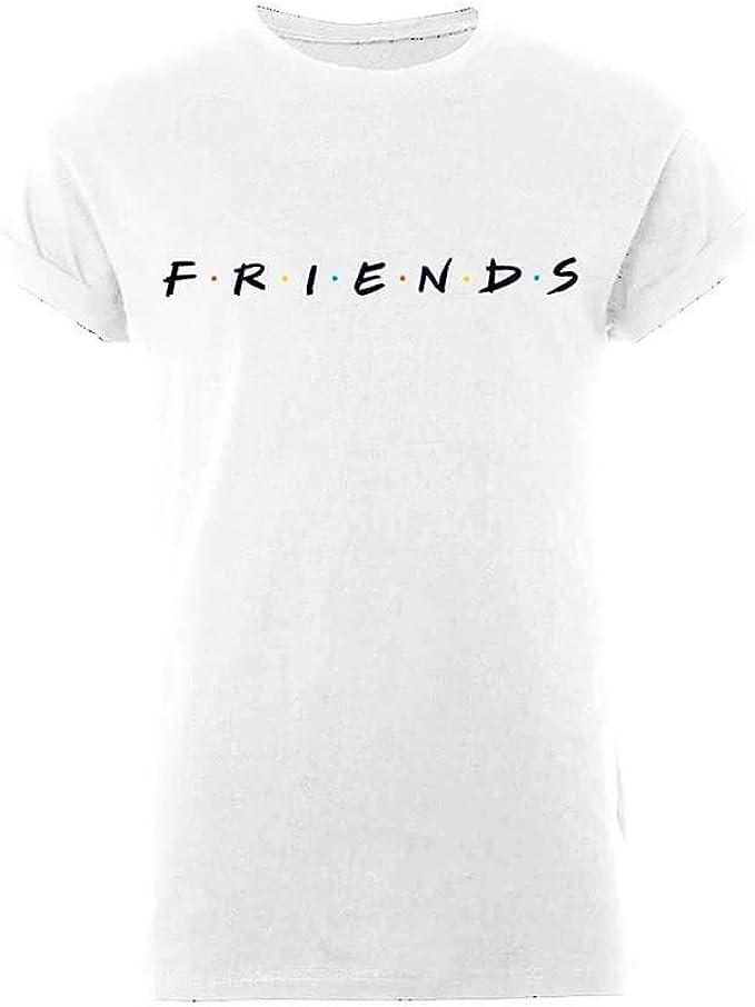 Friends - Camiseta de manga larga para hombre, diseño clásico: Amazon.es: Ropa y accesorios