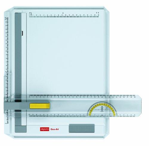 Aristo Geo-Board Zeichenplatte (A4, schlagfester Kunststoff) weiß
