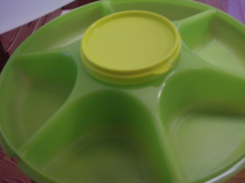 Tupperware Serving Center New Lime Green
