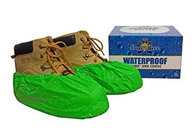Shubee C SB SC WP GN Original Shoe Cover, Waterproof Bright Green
