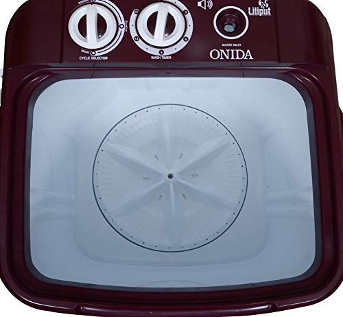 Onida 6.5 kg Washer Only (WS65WLPT1LR Liliput, Lava Red) 41vEnllWf2L India 2021