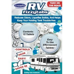 Natural Air Man RV Fizzytabs Reduces Odors, Liquefies Solids, and Helps Keep Your Holding Tank Trouble-Free!
