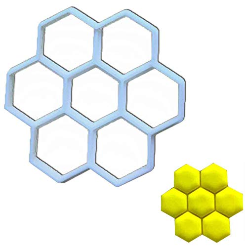 Honeycomb cookie cutter, 1 pc, Ideal for honey themed party