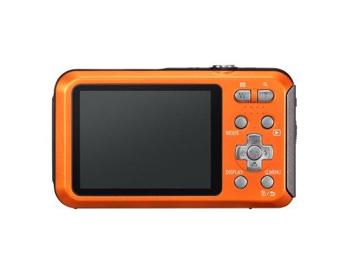 Panasonic Lumix TS20 16.1 MP TOUGH Waterproof Digital Camera with 4x Optical Zoom (Orange) (OLD MODEL) by Panasonic (Image #1)