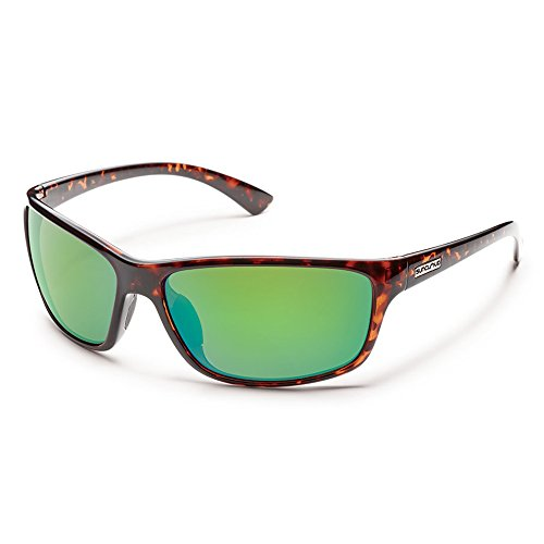 Suncloud Sentry Polarized Sunglasses(Green Mirror - Frisco Sunglasses