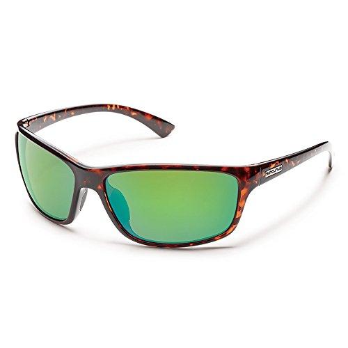 Suncloud Sentry Polarized Sunglasses(Green Mirror - Frisco Sunglasses