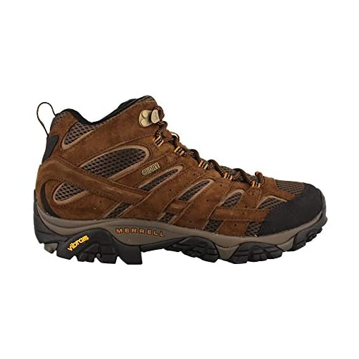 Merrell Men's Moab 2 Mid Waterproof Hiking Boot, Earth, 13 2E US