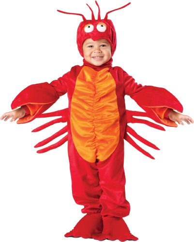 InCharacter Costumes Baby's Lil' Lobster Costume, Red, (Lobster Costume Halloween)