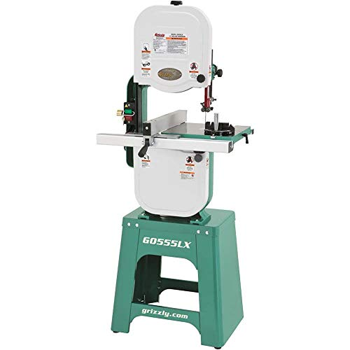 Grizzly Industrial G0555LX – 14″ 1 HP Deluxe Bandsaw