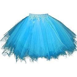 Women's Rainbow TuTu Petticoat