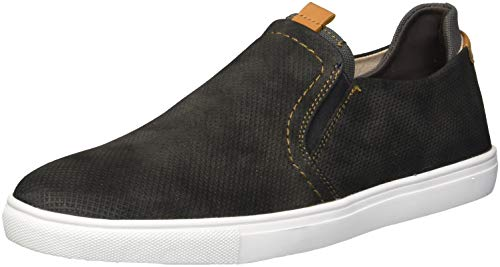 Unlisted by Kenneth Cole Men's Design 30247 Sneaker, Dark Grey Nubuck, 13 M US by Unlisted by Kenneth Cole