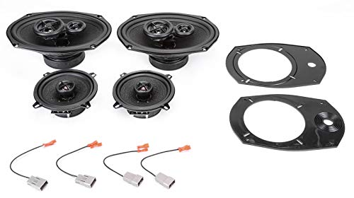 (2002-2004 Dodge Ram Pickup 1500 Complete Premium Factory Replacement Speaker Package by Skar Audio)