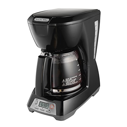 12 Cup Black Programmable Coffee Maker ()