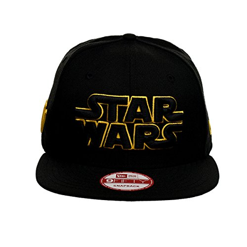 New Era Star Wars Snapback Hat (Black)
