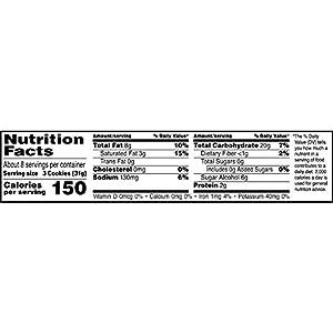 Murray Sugar Free Chocolate Chip Cookies 88 Oz by Kellogg Company