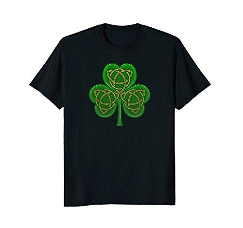 Irish Celtic Trinity Knot (Irish Celtic Trinity Knot Shamrock T-Shirt)