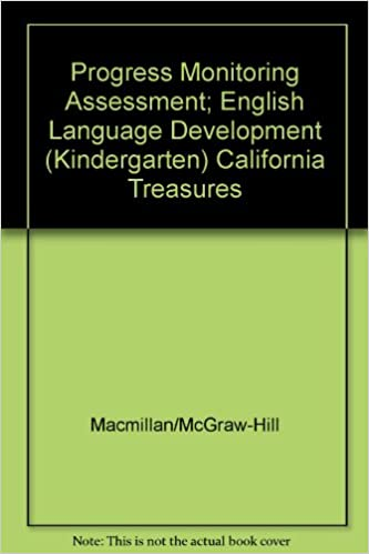 Progress Monitoring Assessment English Language Development