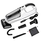 AINOPE Car Vacuum Cleaner, 5000PA High Power Stronger Suction Car Vacuum DC 12V/ 90W Handheld Auto Car Cleaner with 4M (13ft) Long Power Cord Multifunctional Automotive/Auto Vacuum for Car (White)