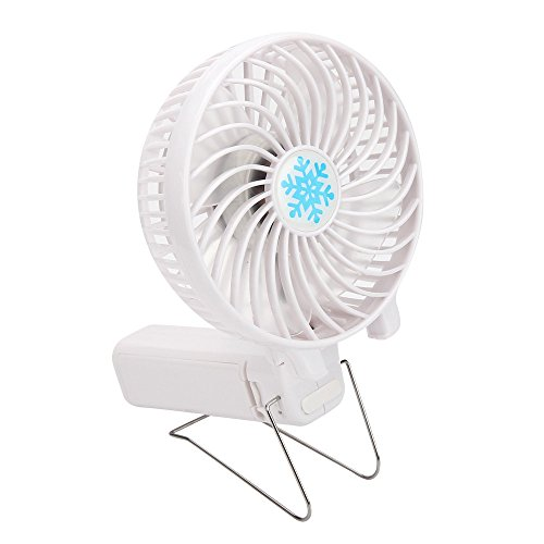 SERYU Portable Handheld Mini Air Conditioner Cooler Fan USB Battery