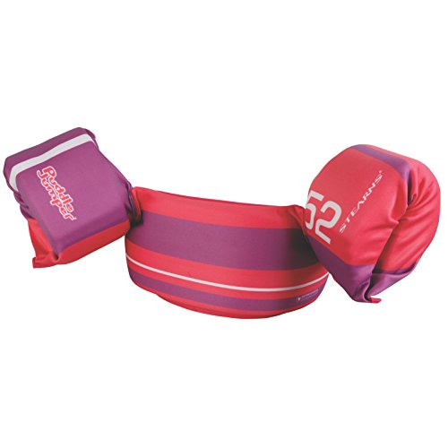 Stearns Puddle Jumper Ultra Child Life Jacket, Pink/Purple Stripe ()