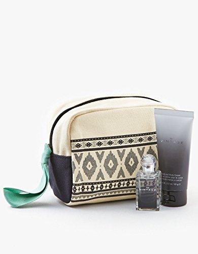 American Eagle Outfitters AEO Vintage Mini .50 Ounce Eau De Toilette and 2 Ounce Hand Body Cream Fragrance Gift Set