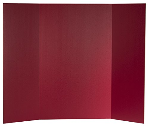 Flipside Products 30069 Project Display Board, Red (Pack of 24) by Flipside Products