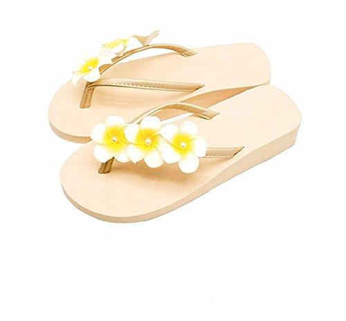 estate cool località antislittamento piedino spiaggia Flower YMFIE lady d pantofole balneare pantofole chop 1I4cq5