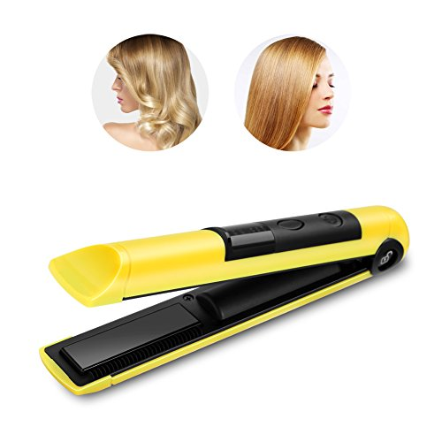 Straightener Portable Cordless Rechargeable Straightening