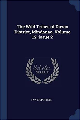 The Wild Tribes of Davao District, Mindanao, Volume 12, issue 2: Fay