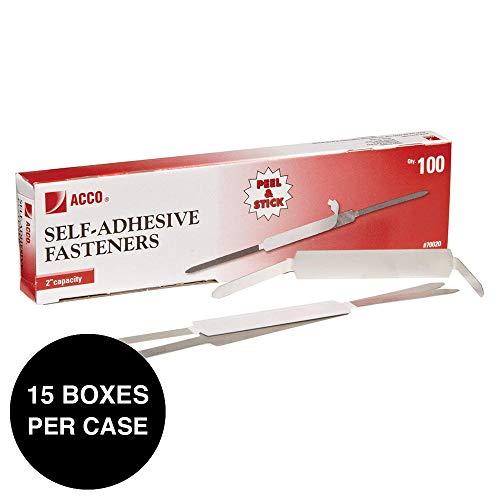 ACCO Self-Adhesive Fasteners, 2