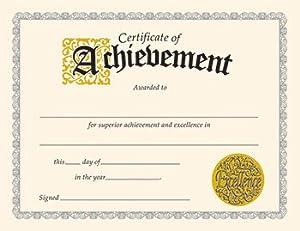 amazoncom certificate of achievement 30pk toys amp games